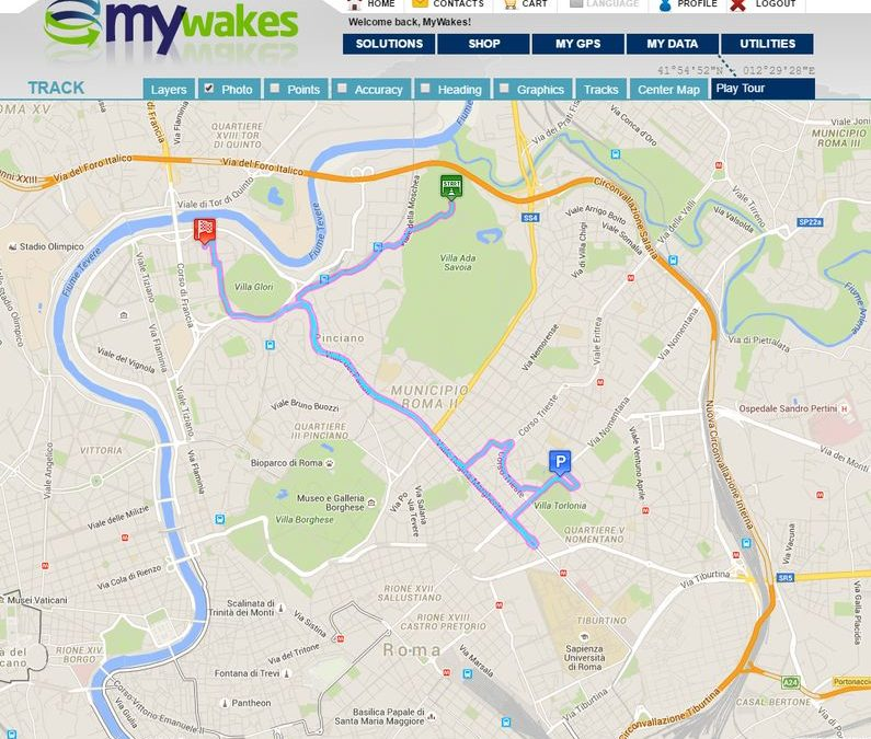 The brand new GPS tracking platform is ready
