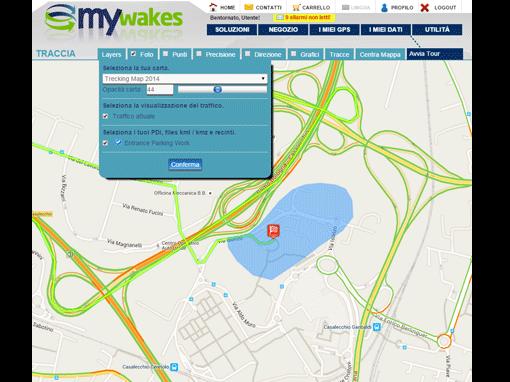 la localizzazione GPS che semplifica la gestione