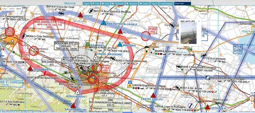 Integra le tue mappe Avioportolano nel tracciamento aerei MyWakes