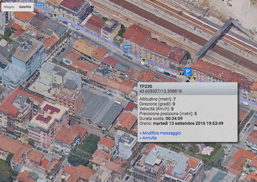 utilizzando il tracciamento MyWakes abbinato al GPS Garmin conosci posizione e percorsi in tempo reale