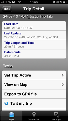 btraced tracking app per iphone ios